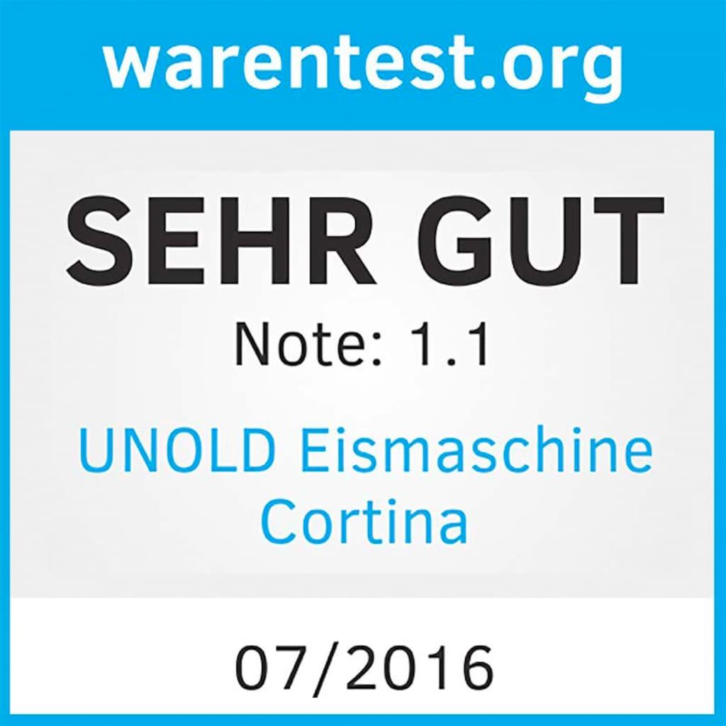 Unold Eismaschine »Cortina 48806«, 1,5 l, 150 W