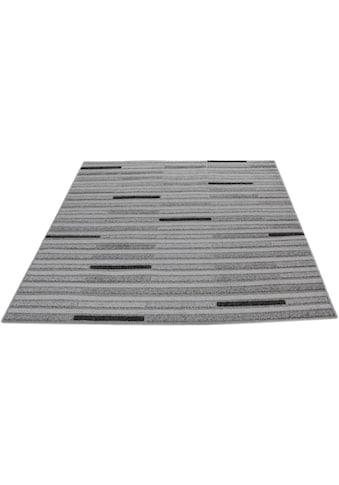 Teppich, »Cancun Streifen«, Living Line, rechteckig, Höhe 3 mm, maschinell gewebt kaufen