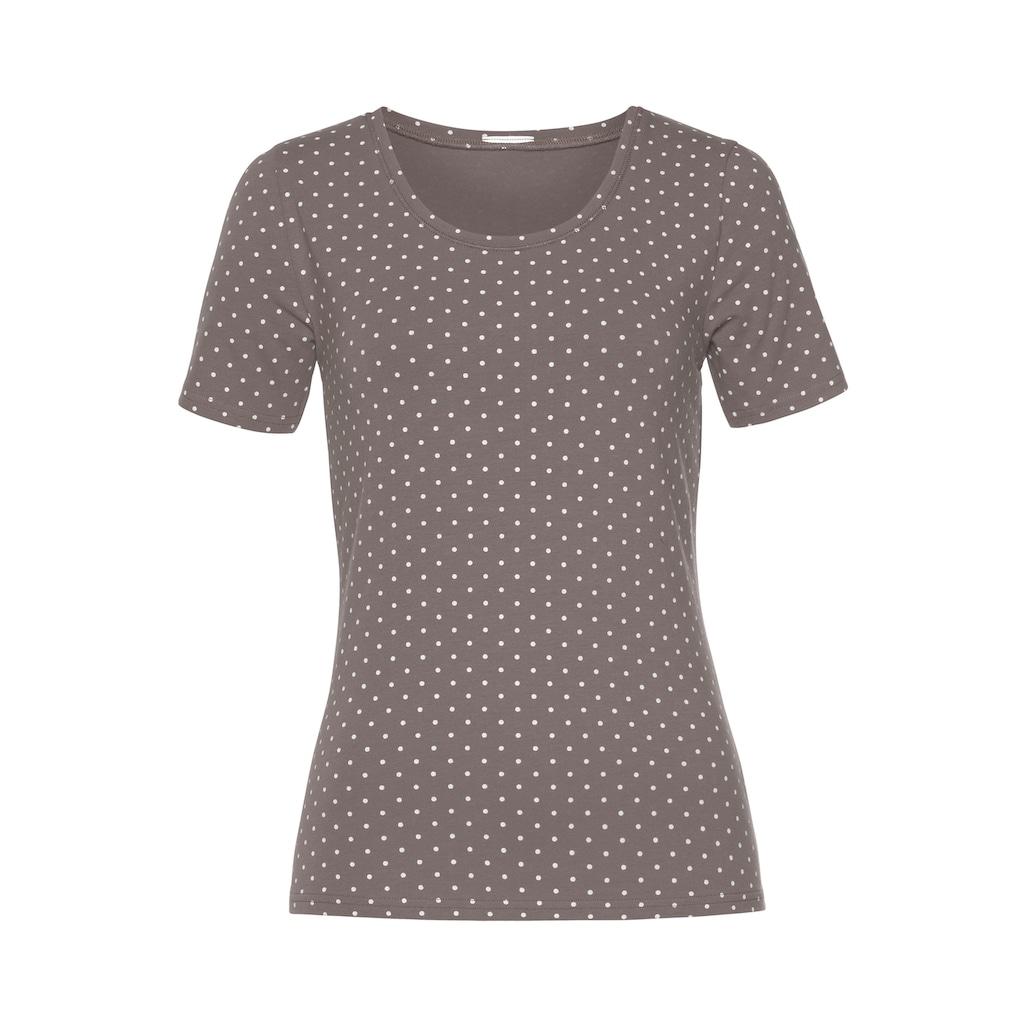 Vivance T-Shirt, aus elastischer Baumwoll-Qualität