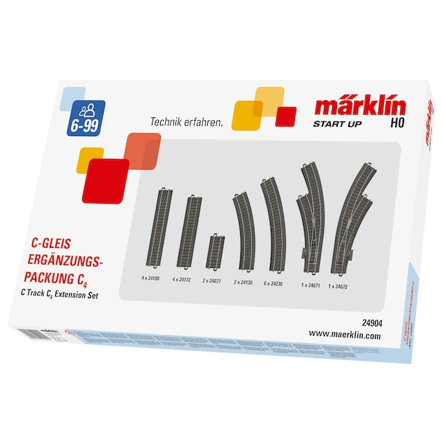 "Märklin Gleise-Set ""Märklin Start up - C4 - 24904"", Spur H0"