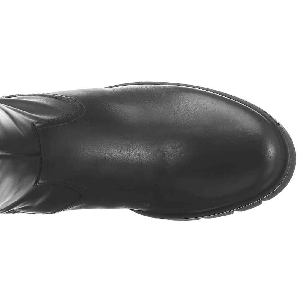 Gabor Stiefel, mit praktischem Innenreißverschluss