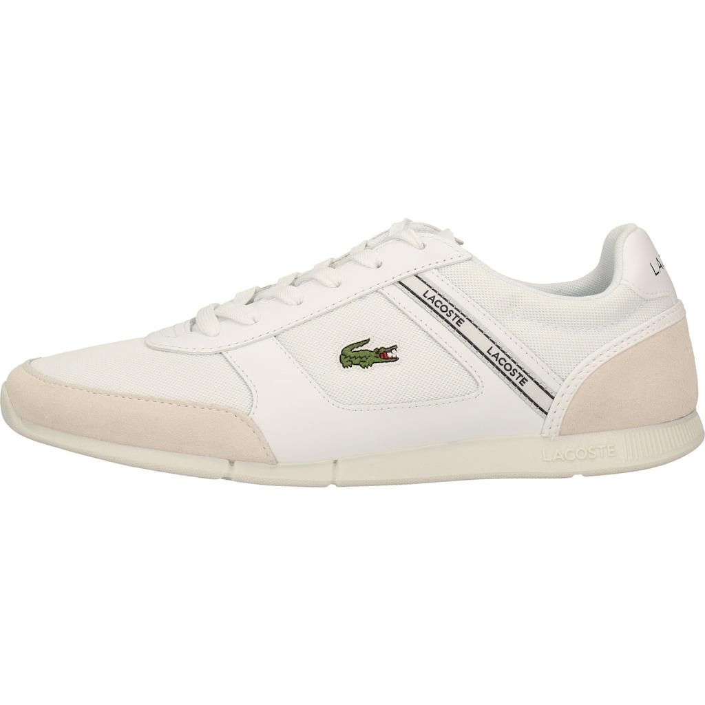 Lacoste Sneaker »Veloursleder/Textil«