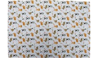 Platzset, »32657 Rabbits«, HOSSNER  -  HOMECOLLECTION (Set, 4 - tlg.) kaufen