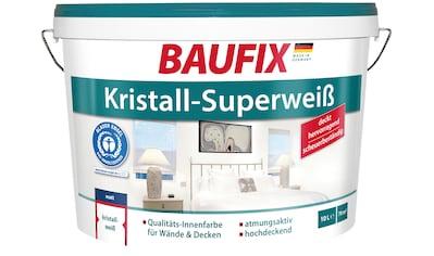BAUFIX Wand -  und Deckenfarbe Kristall - Superweiß, 10 L kaufen