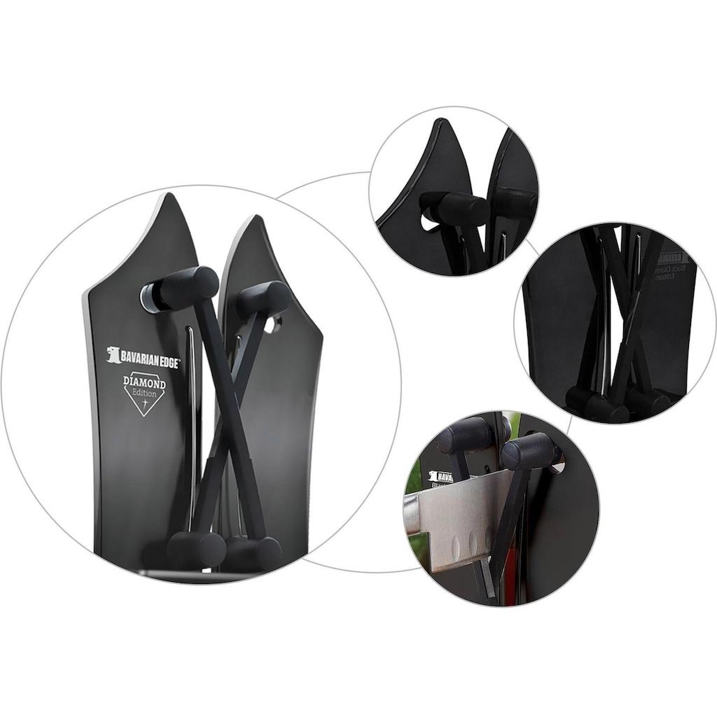 MediaShop Messerschärfer »Bavarian Edge Diamond Edition«, X-Cross-Technologie