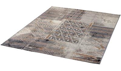 Dekowe Teppich »Rinke«, rechteckig, 5 mm Höhe, Flachgewebe, In- und Outdoor geeignet, Wohnzimmer kaufen