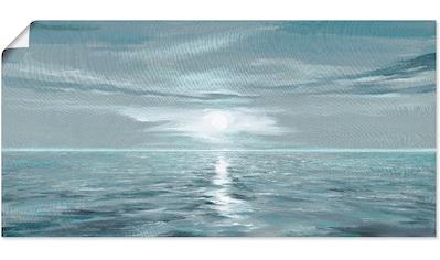 Artland Wandbild »Eisblaues Meer«, Gewässer, (1 St.), in vielen Größen & Produktarten... kaufen