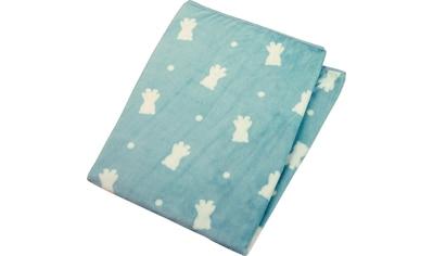 Sterntaler® Babydecke »Ben«, aus weichem Teddyflausch kaufen