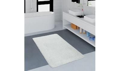 Paco Home Badematte »Lagos 750, rechteckig«, Höhe 25 mm, Badteppich, Uni Farben,... kaufen