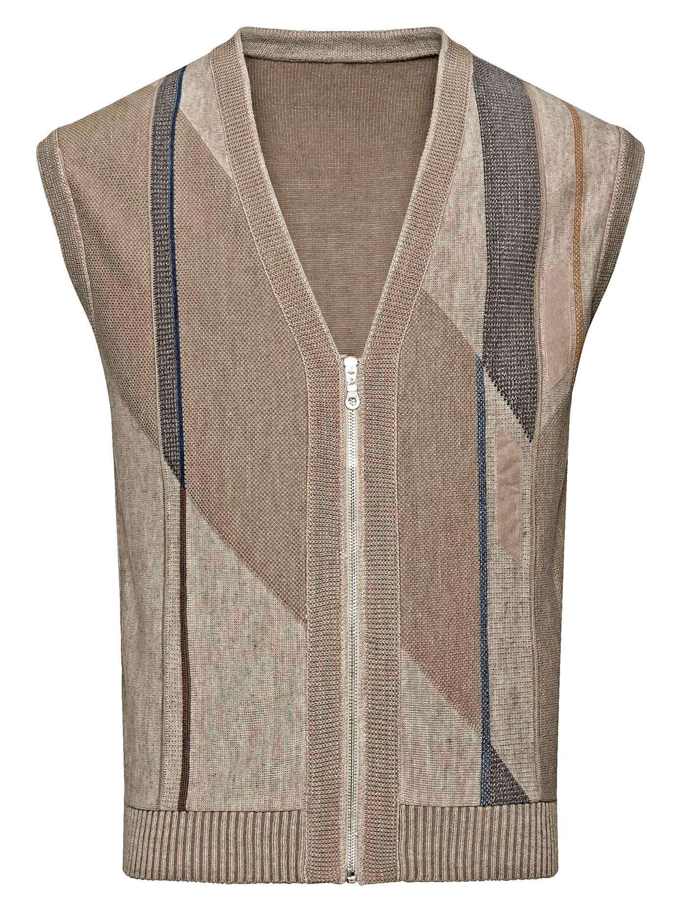 Classic Strickweste mit Intarsien-Muster   Bekleidung > Westen > Strickwesten   Classic