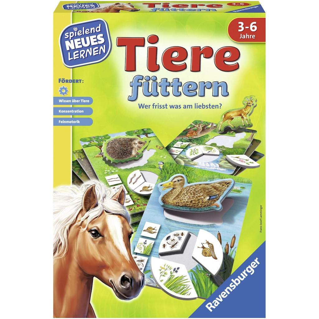 Ravensburger Spiel »Tiere füttern«, Made in Europe, FSC® - schützt Wald - weltweit