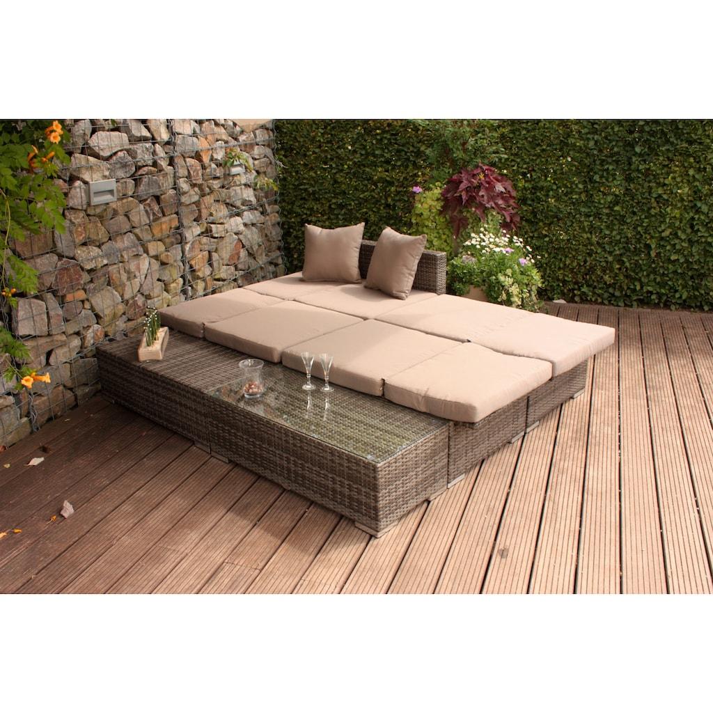 Garden Pleasure Loungeset »Alcudia«, (Set)