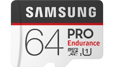 Samsung Speicherkarte »PRO Endurance microSD 64 GB«, (UHS Class 1) kaufen