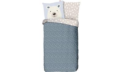 good morning Kinderbettwäsche »Bear«, mit Eisbär kaufen