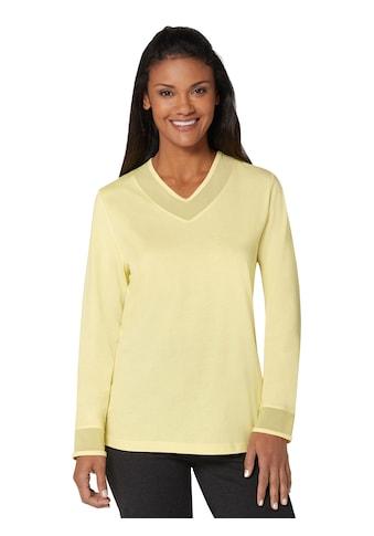 wäschepur Schlafanzug - Shirt mit Mesh kaufen