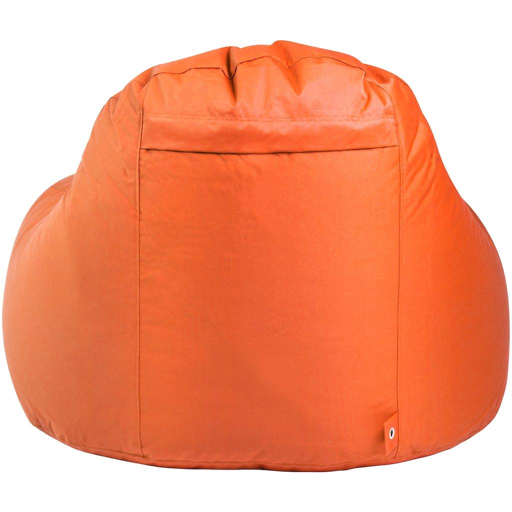OUTBAG Sitzsack »Slope XL Plus«, wetterfest, für den Außenbereich, BxT: 115x140 cm