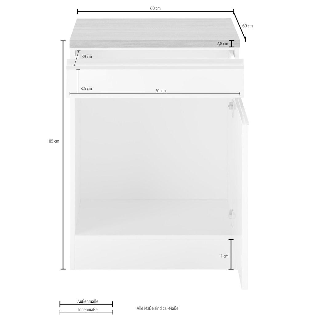 HELD MÖBEL Unterschrank »Ohio«, Breite 60 cm