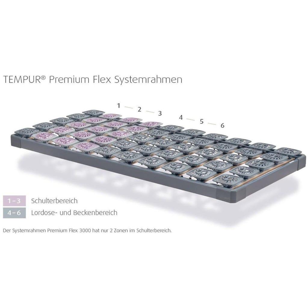 Tempur Lattenrost »Tempur® Premium Flex 1500 R«, 10 Leisten, Kopfteil nicht verstellbar, rechts aufklappbar zur Stauraumnutzung unter dem Bett