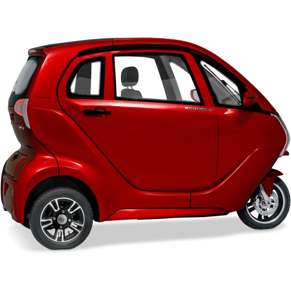 ECONELO Elektromobil »ECONELO Z1«, 3000 W, 45 km/h, Alufelgen, elektrische Fensterheber, Rückfahrkamera, MP3-Player und FM Radio