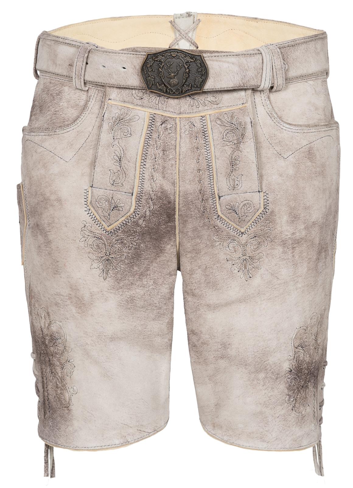 Spieth & Wensky Lederhose Gabriel kurz 43 cm   Bekleidung > Hosen > Lederhosen   Spieth & Wensky