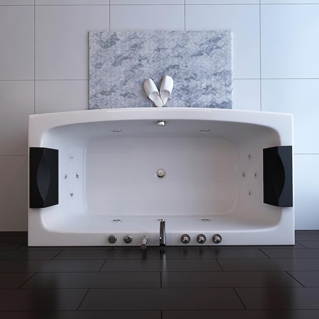 HOME DELUXE Whirlpool-Badewanne »Noor«, B/H/T 170 / 80 / 84 cm