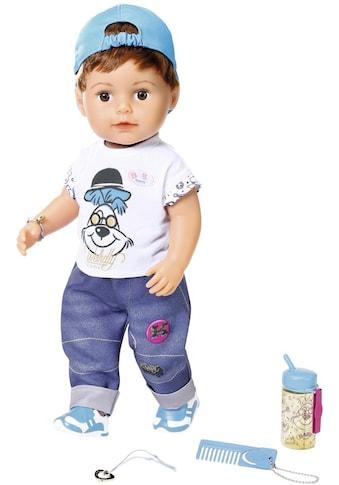 Baby Born Stehpuppe »Soft Touch Brother, 43 cm«, interaktiv kaufen