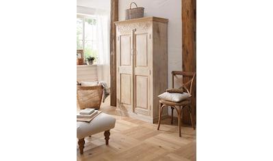 Home affaire Garderobenschrank »Devdan«, mit dekorativen Fräsungen oben, Breite 100 cm kaufen