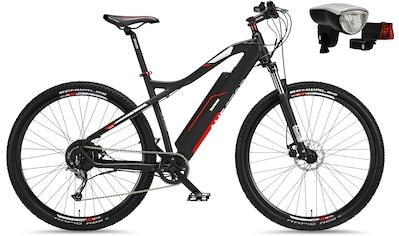 Telefunken E-Bike »Aufsteiger M920«, 9 Gang, Shimano, Acera, Heckmotor 250 W, (mit Beleuchtungsset) kaufen