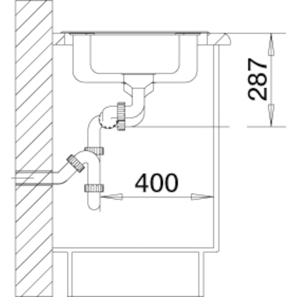 Blanco Küchenspüle »LANTOS 6-IF«, inklusive 1 Edelstahleinsatz