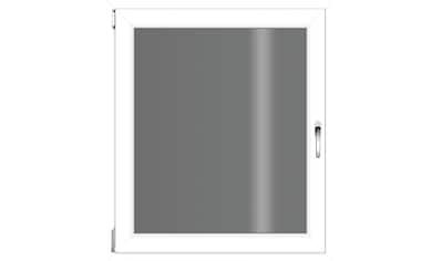 RORO TÜREN & FENSTER Kunststoff - Fenster BxH: 75x90 cm, ohne Griff kaufen