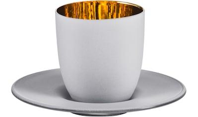 Eisch Espressoglas »Cosmo gold«, (Set, 2 tlg.), Echtgold, handgefertigt, bleifrei, 100... kaufen