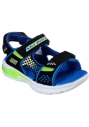 Skechers Kids Sandale »E-II SANDAL«, mit drei Klettverschlüssen kaufen