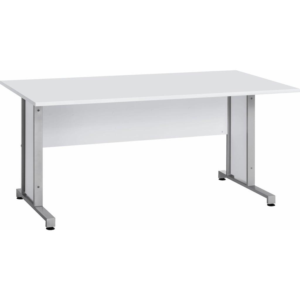 Maja Möbel Schreibtisch »System«, mit Kabeldurchlass in der Arbeitsplatte