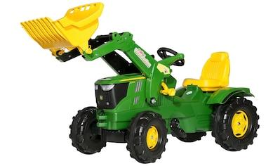 ROLLY TOYS Tretfahrzeug »John Deere 6210R«, Kindertraktor mit Lader kaufen