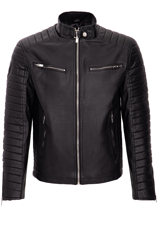 OMBRE Bikerjacke   Bekleidung > Jacken > Bikerjacken   Schwarz   Jeans   Ombre