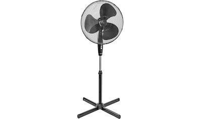 bestron Standventilator »mit Schwenkfunktion«, Höhe: 122 cm, Ø 45 cm, 45 W, Schwarz kaufen