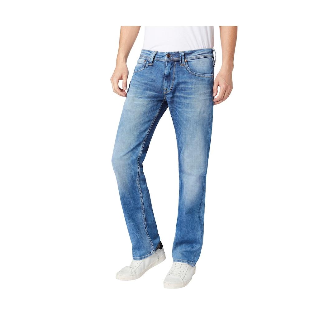 Pepe Jeans Straight-Jeans »KINGSTON ZIP«