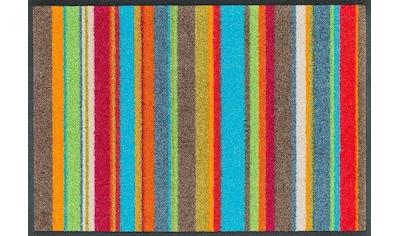 wash+dry by Kleen-Tex Fußmatte »Stripes«, rechteckig, 7 mm Höhe, Schmutzfangmatte kaufen