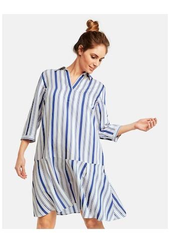 Samoon Kleid Langarm kurz »Hemdblusenkleid in A - Linie« kaufen