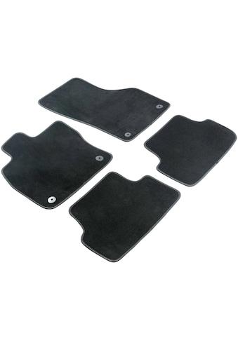 WALSER Passform-Fußmatten »Premium«, (4 St.), für Toyota Corolla Bj 03/2014 - Heute kaufen