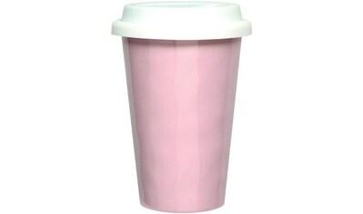 Q Squared NYC Coffee-to-go-Becher »Melamin«, (Set, 2 tlg., 2), 300 ml, 2-teilig kaufen