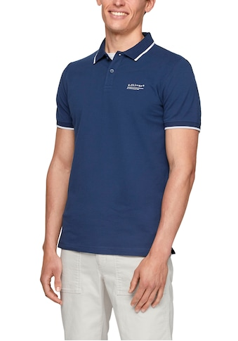 s.Oliver Poloshirt, mit Logoprint kaufen
