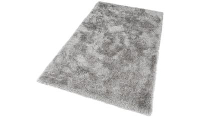merinos Hochflor-Teppich »Glossy 411«, rechteckig, 70 mm Höhe, Besonders weich durch Microfaser, Wohnzimmer kaufen