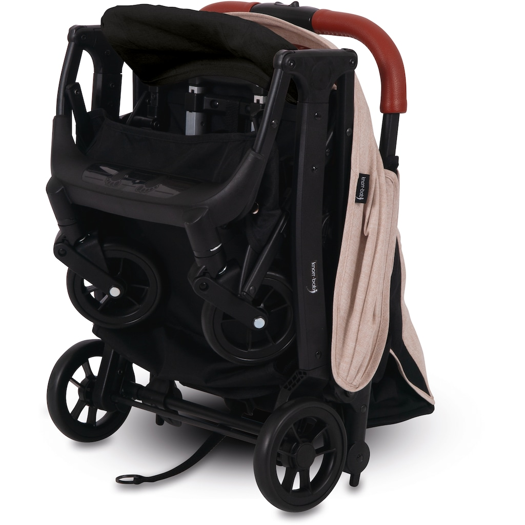Knorrbaby Kinder-Buggy »B-Easy Fold, Creme«, 15 kg, faltbar; Kinderwagen, Buggy, Sportwagen, Sportbuggy, Kinderbuggy, Sport-Kinderwagen