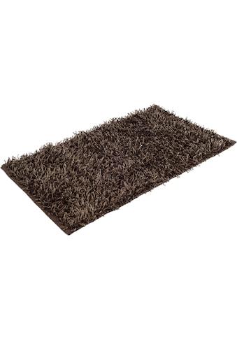 Gözze Badematte »Shaggy Uni«, Höhe 50 mm, rutschhemmend beschichtet, fußbodenheizungsgeeignet kaufen