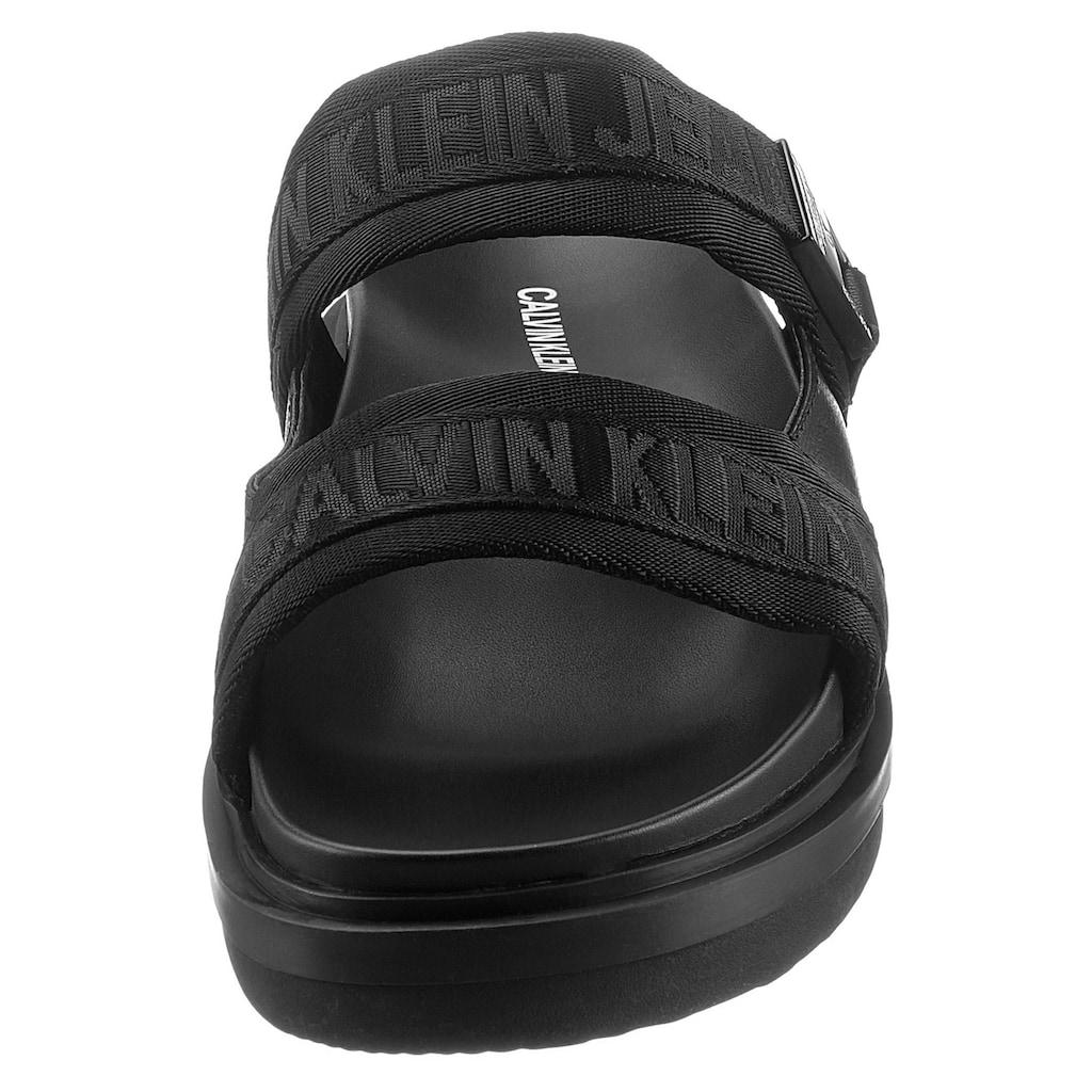 Calvin Klein Pantolette »Calvin Klein Jeans Bennet«, mit Metall-Logo