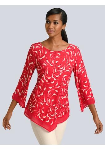 Alba Moda Druckshirt in sommerlichem Print allover kaufen