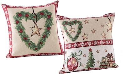 """Kissenhülle """"Weihnachtszeit"""" Dreams kaufen"""