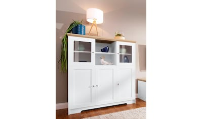 Home affaire Highboard »Nanna«, in duroplastischer Oberfläche Folien Eichen-Optik,... kaufen