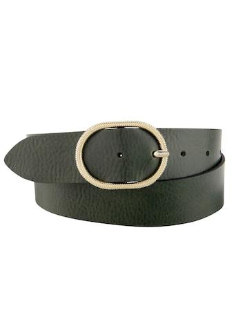 BERND GÖTZ Ledergürtel, mit komfortabler Breite und feiner Ovalschließe kaufen